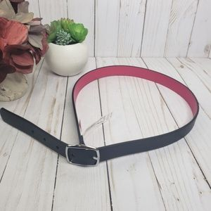 Cat & Jack Black and Pink Reversible Belt